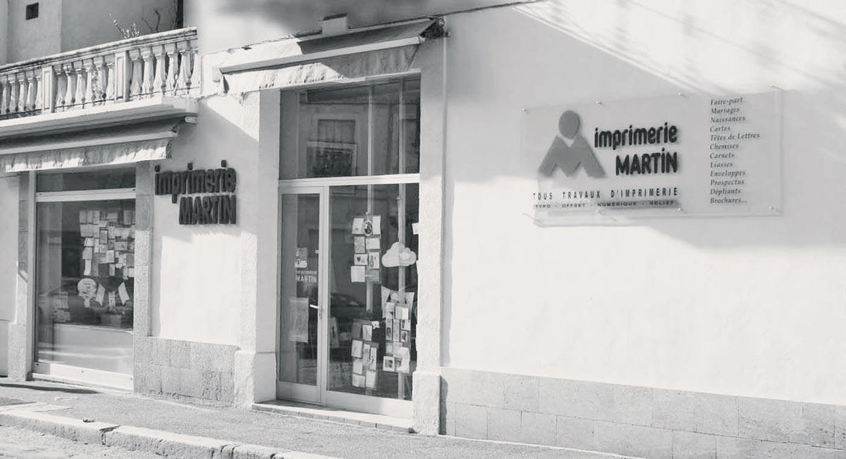 L'imprimerie Martin à Béziers